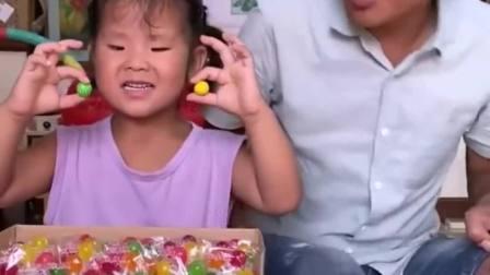童年的记忆:宝贝不给爸爸泡泡糖