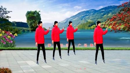 梦中的流星广场舞《喜欢你》演示:凤梅
