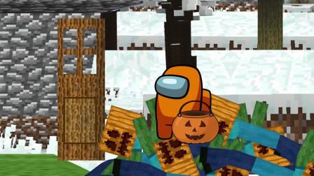 我的世界动画-火柴人学院-万圣节-Bobs World