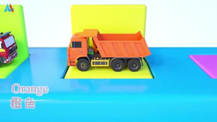 汽车世界之工程车益趣园 第32话 玩具车和颜色