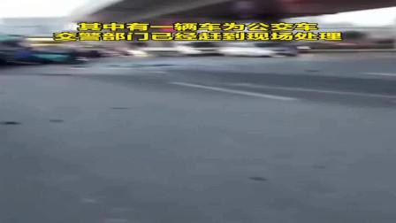 大货车:突发!济南市区一大货车驶入逆向车道连撞8车,致1人死亡!