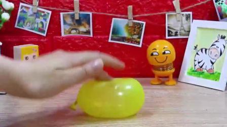 益智玩具:豌豆小泥人制作鼻涕泥气球