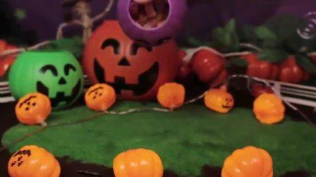益智玩具:南瓜怪们变出非常多的万圣节糖果,飞侠们满载而归