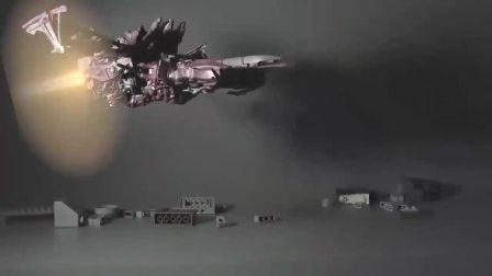 益智玩具:暗黑擎天柱独自对抗霸天虎统领威震天和飞天火龙