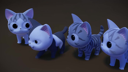 甜甜私房猫:好多猫咪哦!