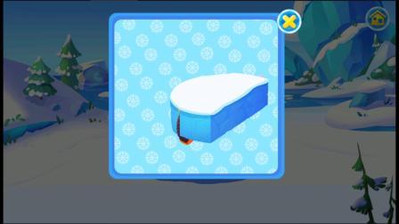 雪地大冒险小游戏,雪房子要建好啦!