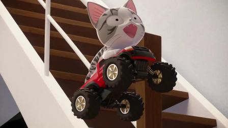 甜甜私房猫:小奇飞起来了!