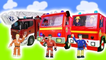 消防员们忙碌的一天