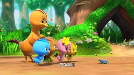 萌鸡小队:小乌龟,你迷路了吗