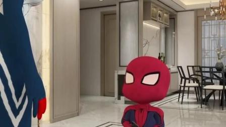 蜘蛛侠:妈妈这智商随谁了呢?