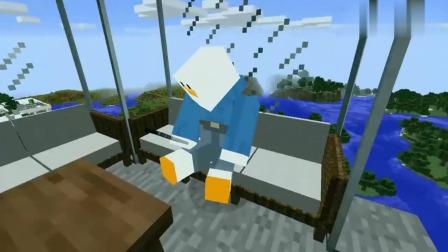 我的世界MC动画:疯狂木偶人VS愤怒的小鸟