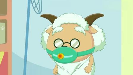 喜羊羊:小灰灰堪比十万个为什么,缠着爸爸一直问,灰太狼想静静