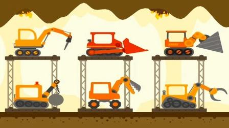 【永哥玩游戏】恐龙挖掘机 恐龙驾驶挖掘机工程车亲子游戏