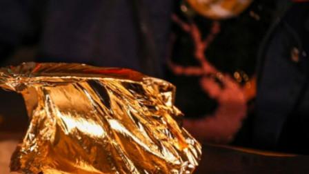 缅甸原始金箔制造,黄金捶打至少2万次,才能生产200张金箔!