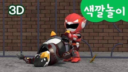 迷你特工队游戏:弗特骑到了恐龙背上,它撞破了什么?