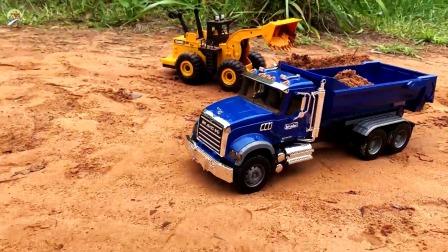 高仿真自卸车玩具,儿童工程车玩具