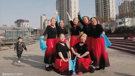舞蹈:蓝色天梦,上海嘉定南翔留云湖@