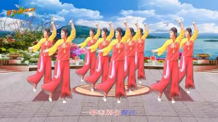 梦中的流星广场舞《伤离别》舞蹈:麦香