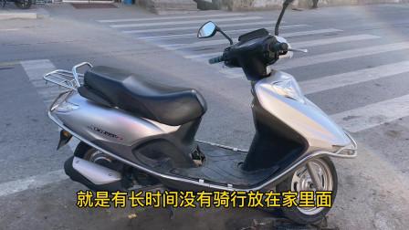 电喷摩托车启动不着了该怎么修理?用这方法,教你不用电脑就能修好