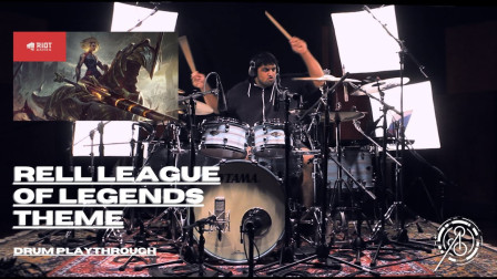 Anup Sastry - League Of Legends - Rell Theme Play Through