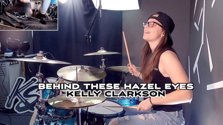 Kristina Schiano - Behind These Hazel Eyes - Kelly Clarkson - Drum Cover