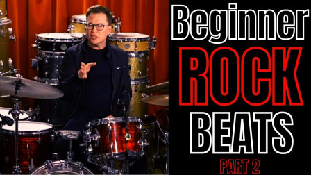 Stanton Moore - 5 Beginner Rock Beats for Drums - The First Beats You Should...