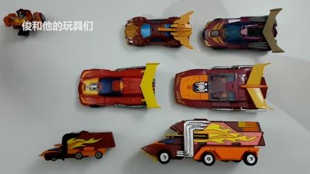 大黄蜂变形金刚机器人黄色汽车玩具 ー 變形金剛 车厢