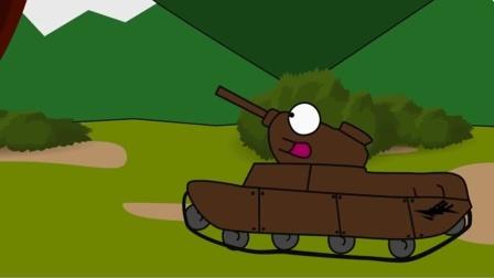 坦克世界动画:居然有怪物出现