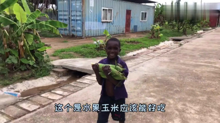 老外:第一次带孩子们做麻花,一下子都吃光,戴维爸妈为孩子用心良苦!