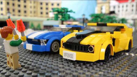 乐高Lego:这场赛车比赛到底谁才是最后的冠军呢?