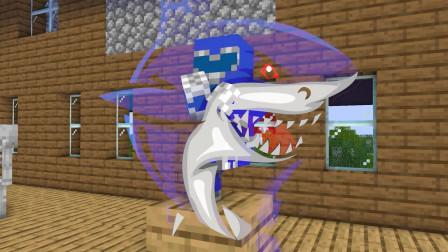 我的世界动画-怪物学院-恐龙战队-Big School 2