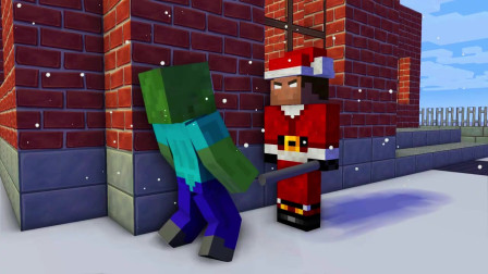 我的世界动画-怪物学院-圣诞翻水瓶-TooBizz