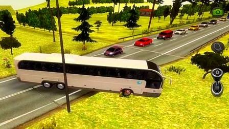 【永哥玩游戏】大巴车城市模拟运送乘客 汽车巴士客车运输