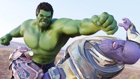 """是男人就要硬碰硬!绿巨人VS灭霸,紫薯精遇到了""""天敌"""""""