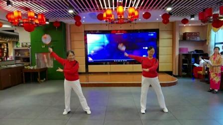 十六、柔力球 《舞动中国印 》  表演者 :肖桃金 钱荷琴