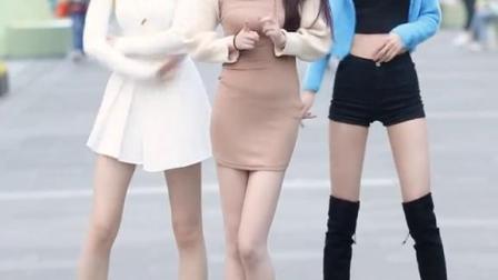#街拍#舞蹈@南初妹妹@大霖Darling@Yilia亦雪这腿是真实存在的吗?