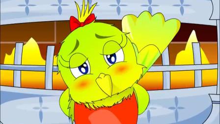 小黄莺唱歌 胆子小没关系 敢于锻炼自己就一定会开心唱歌的