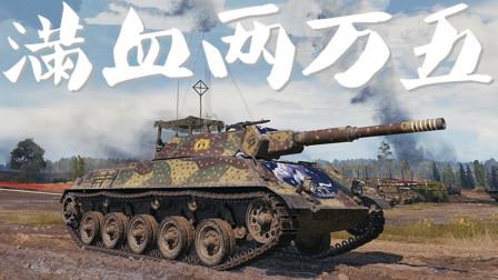 坦克世界 草中滑行 嚣张莱茵豹