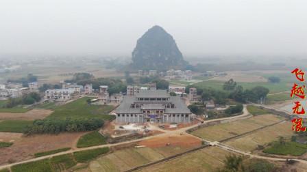 广西农村里的谢氏宗祠,修建得金碧辉煌,气势宏伟壮观!