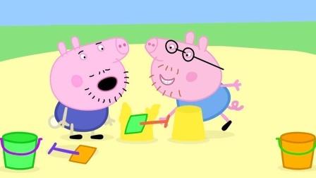 小猪佩奇野餐时究竟发生什么奇怪的事情呢?儿童玩具动画