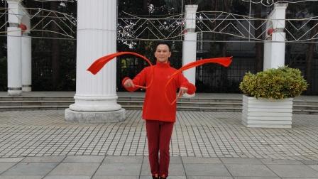 福州周周广场舞【好日子天天过】正面编舞小小高
