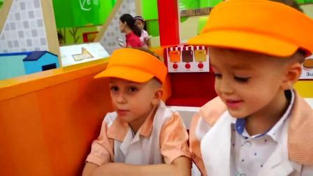 美国儿童时尚,小宝贝们一起在乐园里玩耍,快进来看看吧