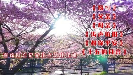 经典老歌:《窗外》+《父亲》+《母亲》+《涛声依旧》+《祝你平安》。