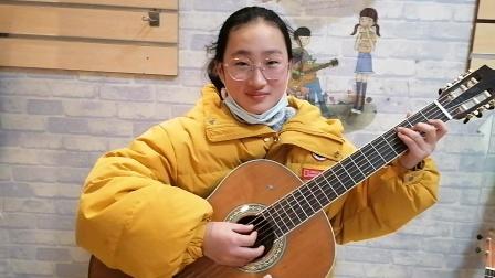 初级班夏盈盈吉他练习视频