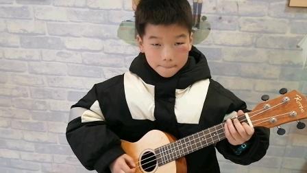 初级班袁添翼尤克里里练习视频