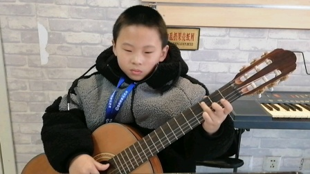 初级班闵梓桐吉他练习视频