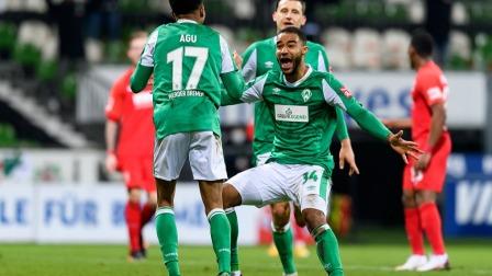德甲-施密德助攻奥古破门 云达不莱梅2-0奥格斯堡