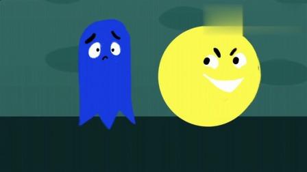 吃豆人大作战:吃豆人变强大后,幽灵灯无处可逃