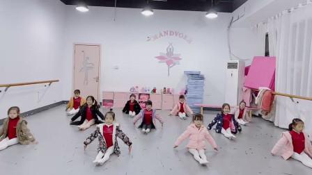 坐着训练基本功1儿童舞蹈 儿童舞蹈锻炼视频教程