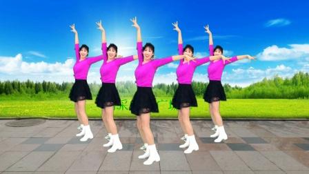 广场舞《喜乐扬起新年》欢快动感,超好看,爆汗跳起来